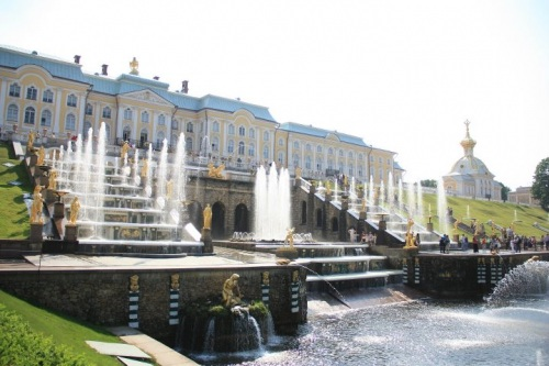 Palacio Peterhof - all.ec