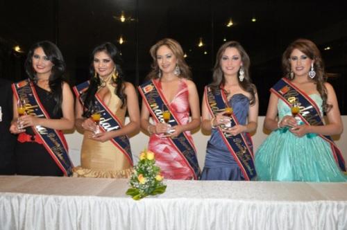 Candidatas Reina 2012