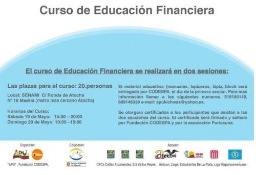Curso Finanzas para Inmigrantes Madrid