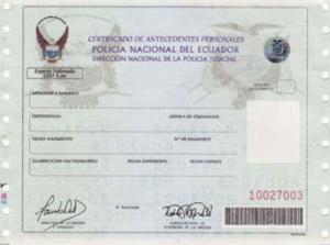 record policial, certificado antecedentes penales ecuatorianos, all.ec